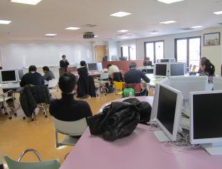 資格の大原札幌校でのセミナー風景